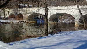 The Brandywine River in Wilmington Delaware